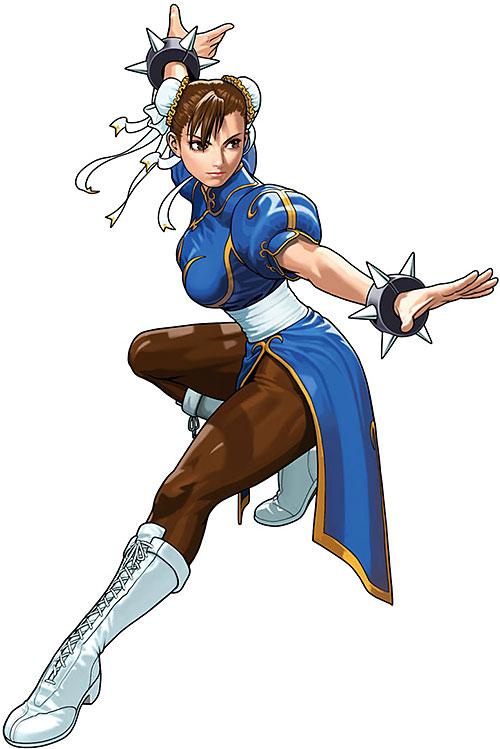 Chun Li from Street Fighters
