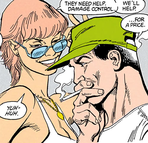 Cinder and Ashe (DC Comics) plotting