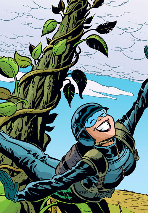 Cinderella of the Fables (DC Comics) base jumping