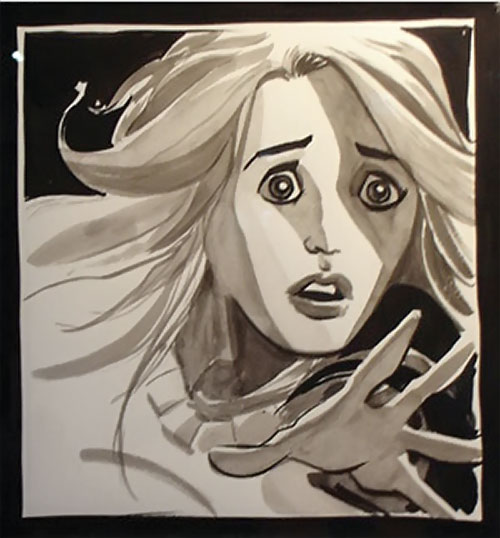 Claire Bennet (Hayden Panetierre in Heroes) Isaac painting