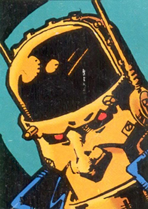 Cliff Steele of the Doom Patrol (Industrial Robotman portrait)