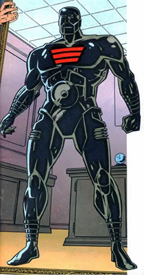 Cliff Steele of the Doom Patrol (black Robotman body)