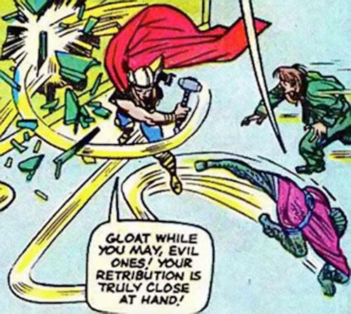 Cobra (Marvel Comics) and Mister Hyde vs. Thor