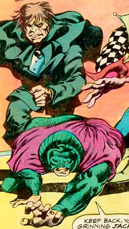 Cobra (Marvel Comics) with Mister Hyde and the Jester