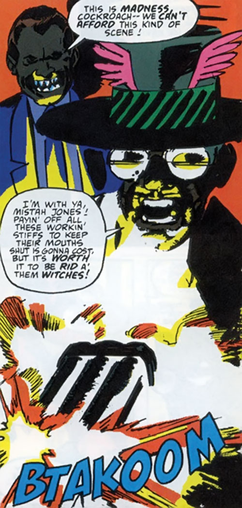 Cockroach Hamilton (Marvel Comics) and Piranha Jones