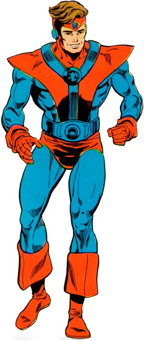 Colossal Boy of the Legion of Super-Heroes (pre-boot DC Comics)