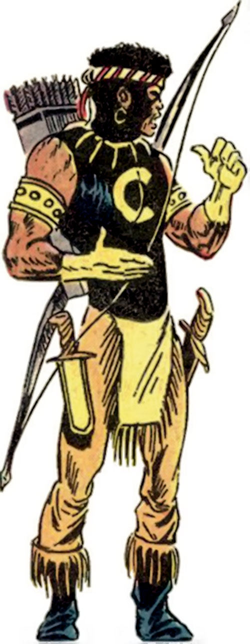 Comanche (Luke Cage enemy) (Marvel Comics)
