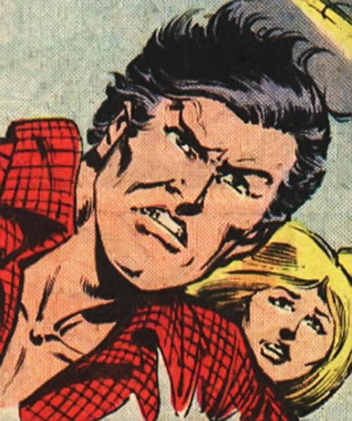 Comet (Nova ally) (Marvel Comics) unmasked face