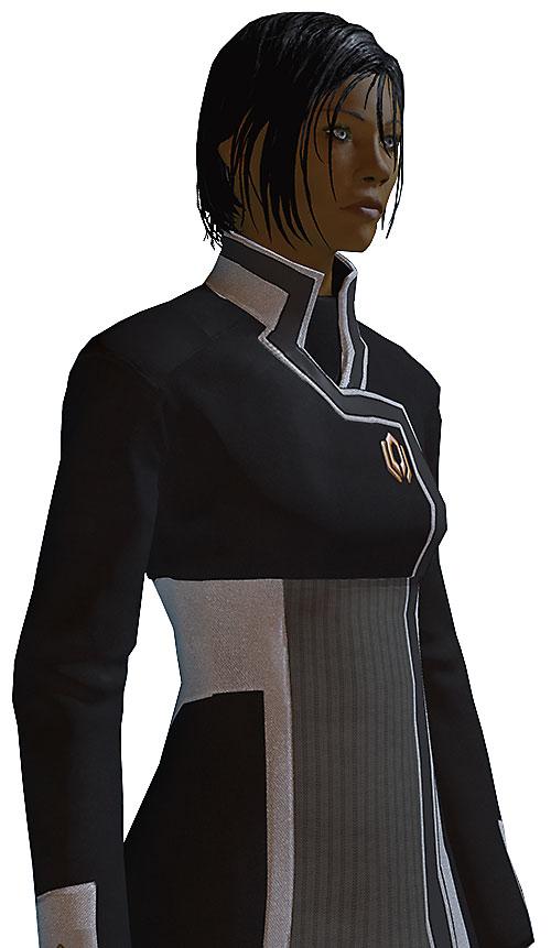 Commander Shepard (Mass Effect 2) side shot