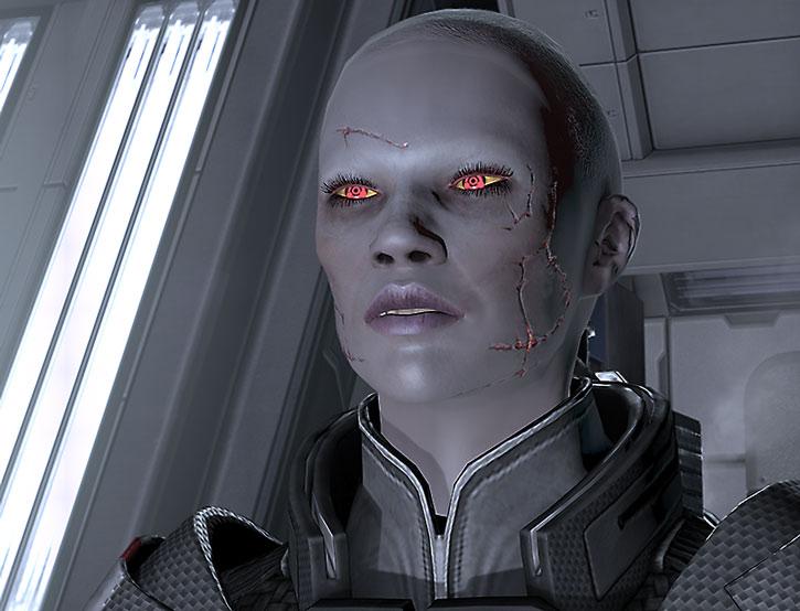 Zombie Commander Shepard isn't happy