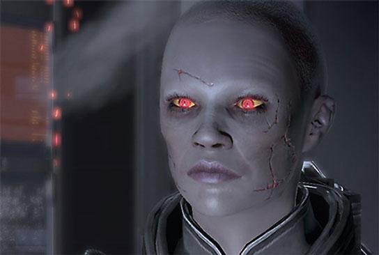 Zombie Commander Shepard is not happy