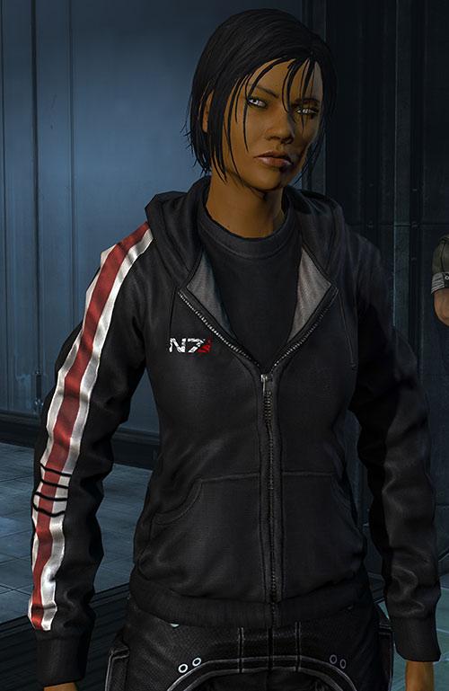 Commander Shepard (Mass Effect 3) pissed off