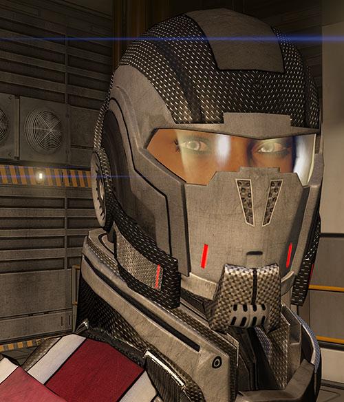 Commander Shepard (Mass Effect 3) high resolution N7 helmet
