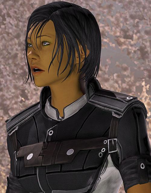 Commander Shepard (Mass Effect 3) talking