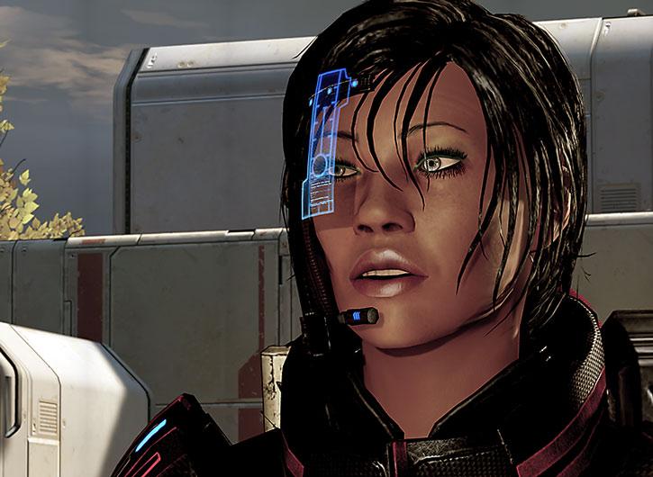 Commander Shepard on Horizon