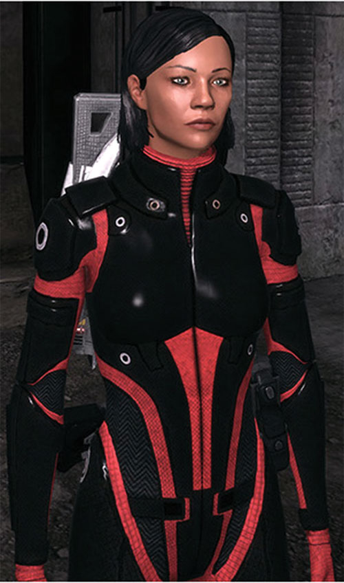 Commander Shepard (Mass Effect 1) (Mandala) industrial walls Colossus armor