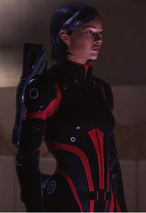 Commander Shepard (Mass Effect 1) (Mandala) Colossus armor no helm