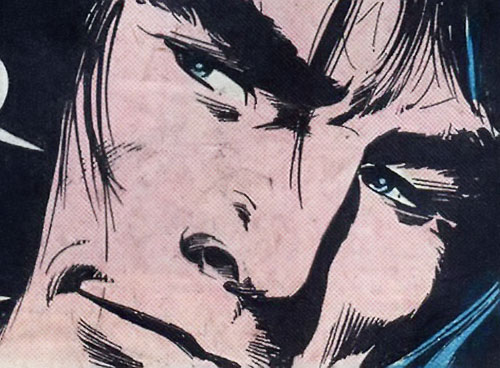 Conan the Barbarian (Marvel Comics version) face closeup