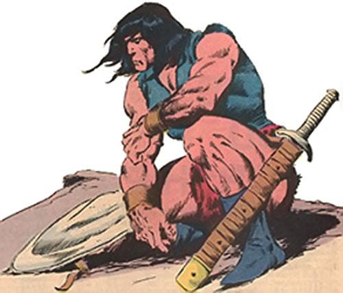Conan the barbarian - Marvel comics art
