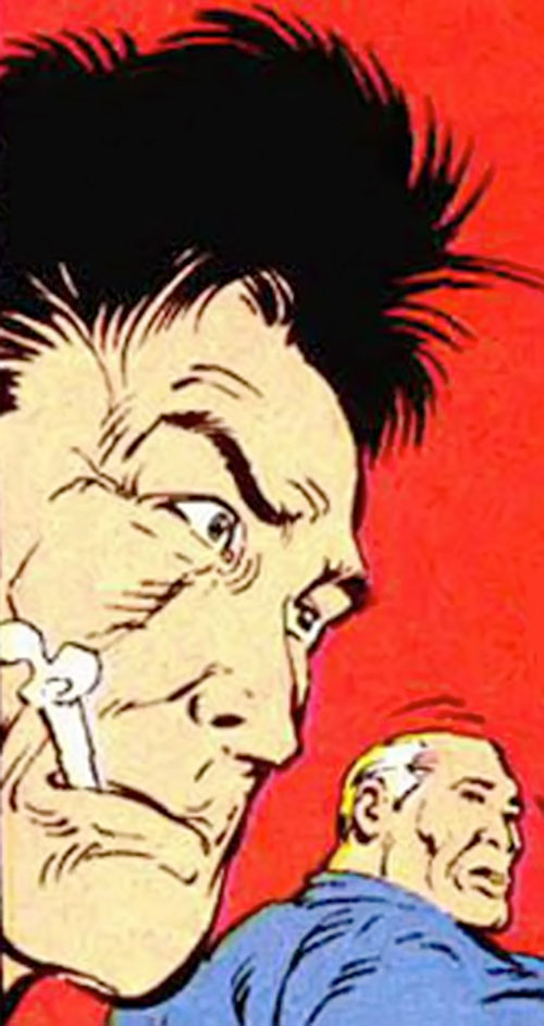 Concussion from Russia (Marvel Comics) face closeup
