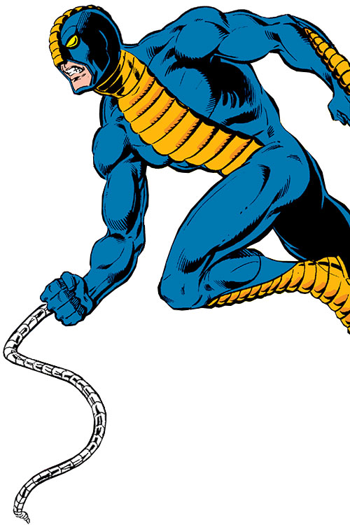 Constrictor (Marvel Comics) charging