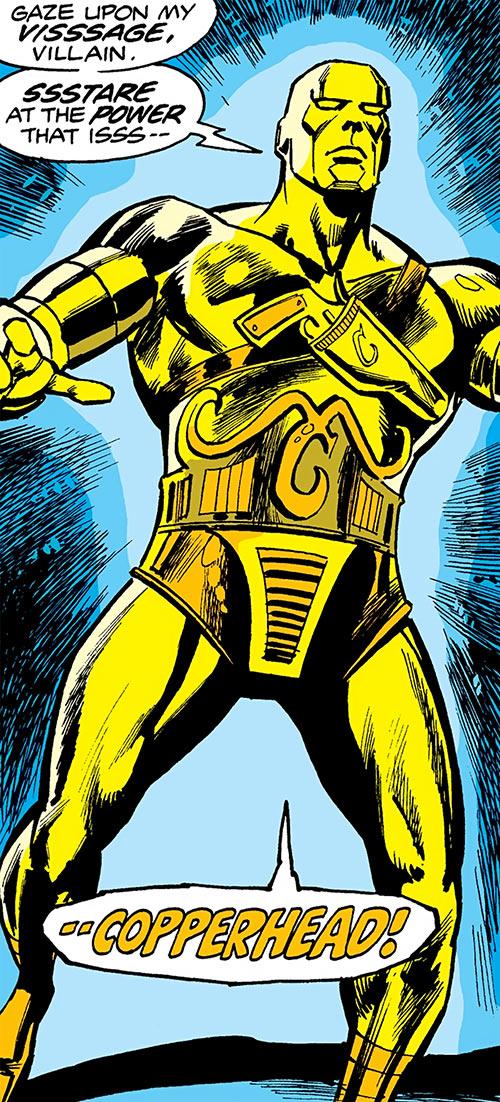 Copperhead (Chesney) (Daredevil enemy) (Marvel Comics) body armor