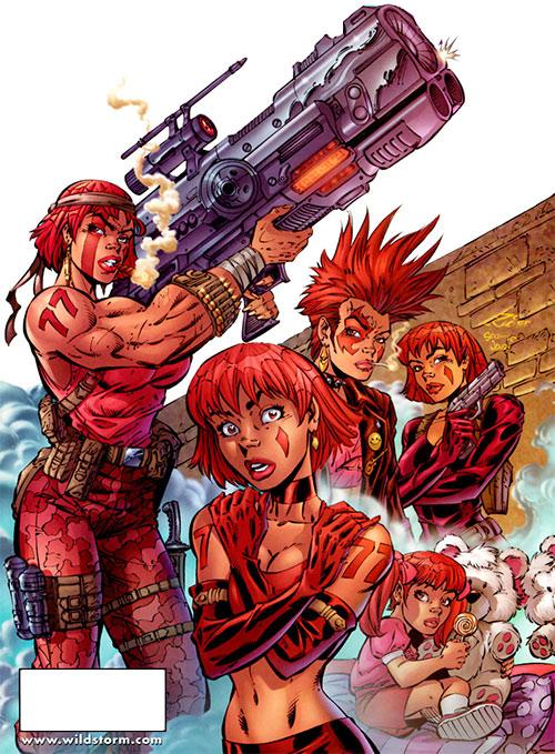 Copycat (DV8) (Wildstorm Comics)