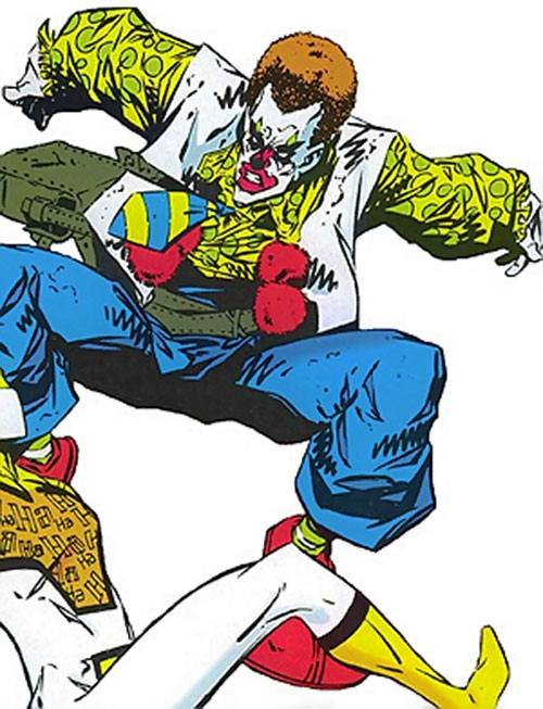 Cosmic Clown (Heckler enemy) (DC Comics)