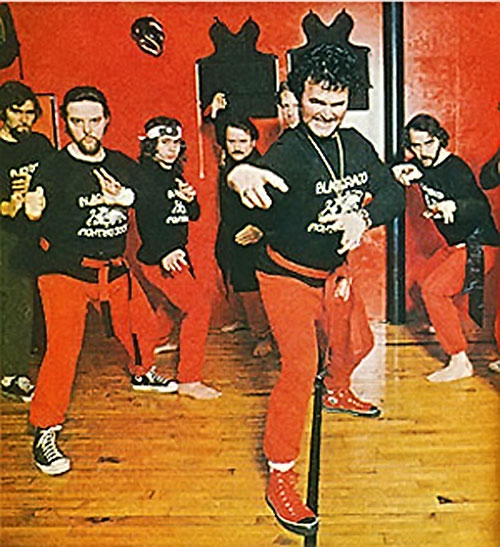 Count Dante - Deadliest Man Alive - Red Ad - at the dojo