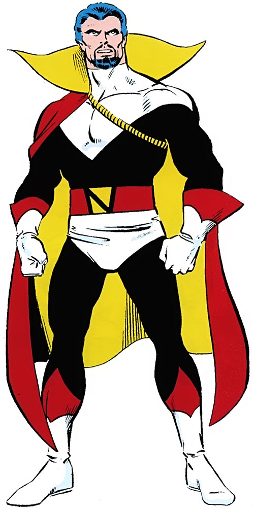 Count Nefaria from the old OHOTMU