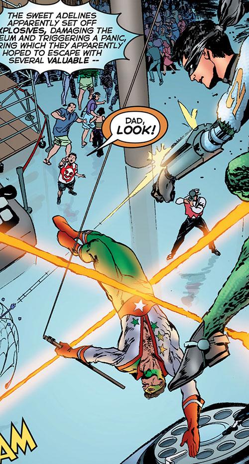 Crackerjack (Astro City comics) and Quarrel