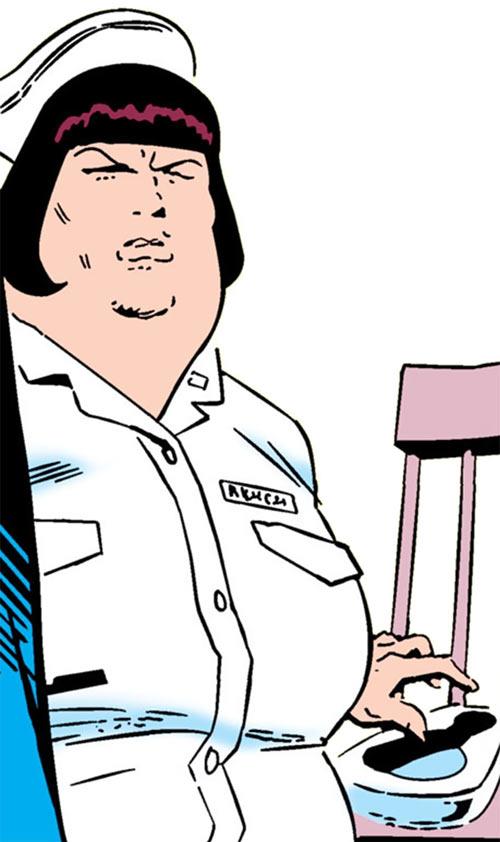 Nurse Rench (Crime Doctor assistant) (DC Comics)