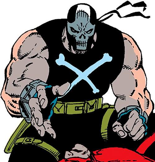 Crossbones (Marvel Comics) (Captain America enemy) crouching