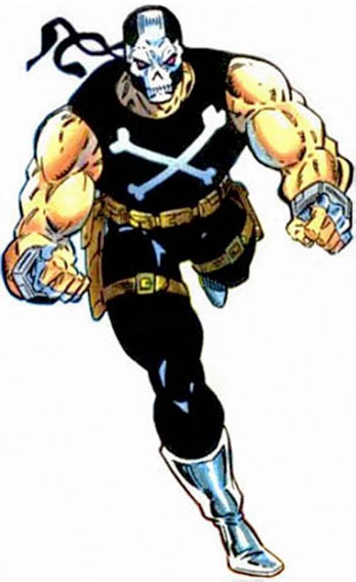 Crossbones (Marvel Comics) (Captain America enemy) running