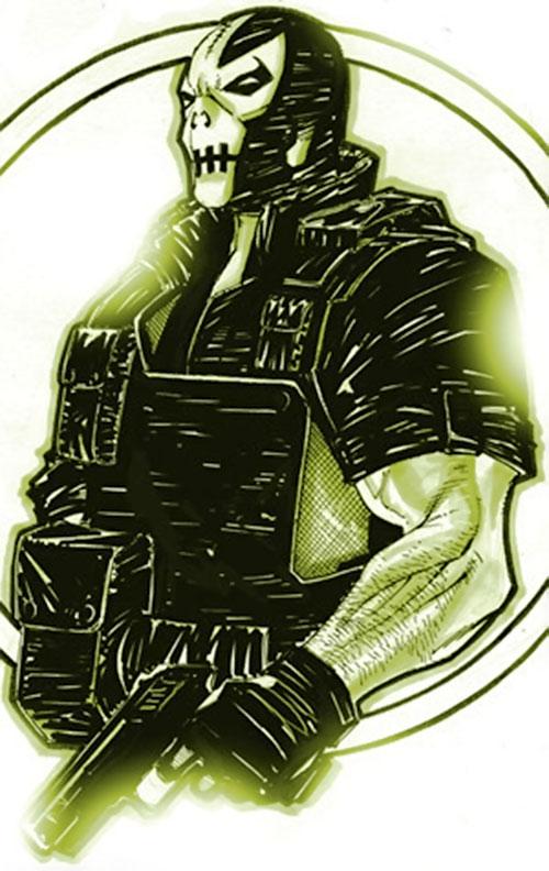 Crossbones (Marvel Comics) (Captain America enemy) sketch