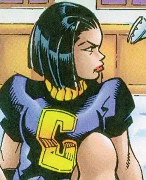 Crux of Cerebro's X-Men (Marvel Comics) in human form