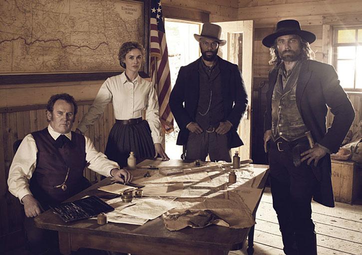 Cullen Bohannon (Anson Mount), Ferguson, Bell and Durant