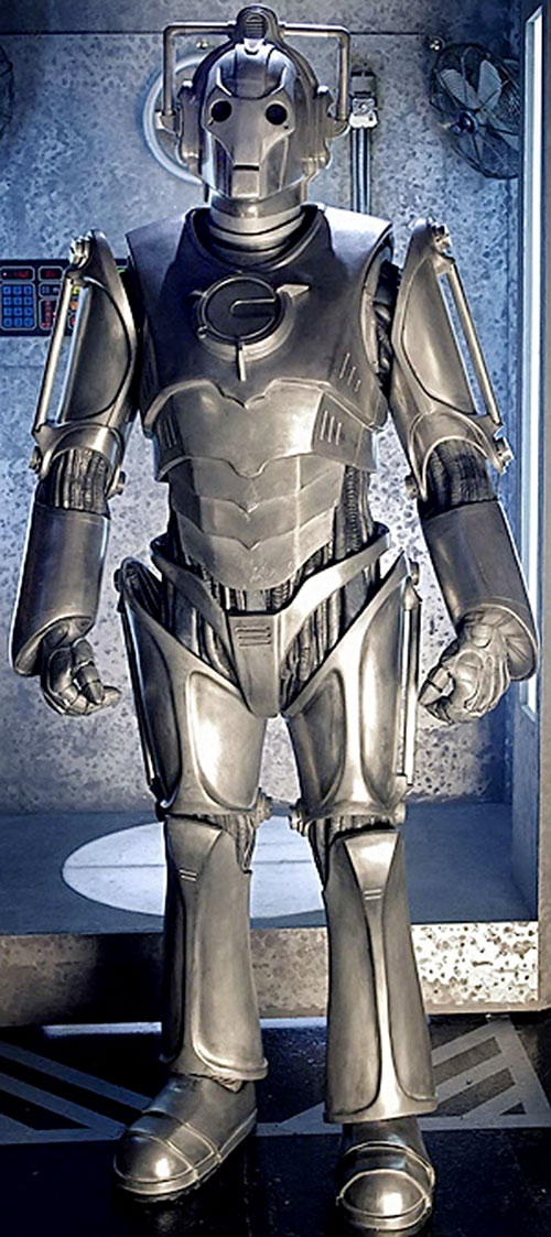Modern cybermen (Dr. Who) costume