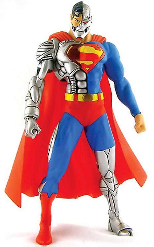 Cyborg Superman (DC Comics) action figure