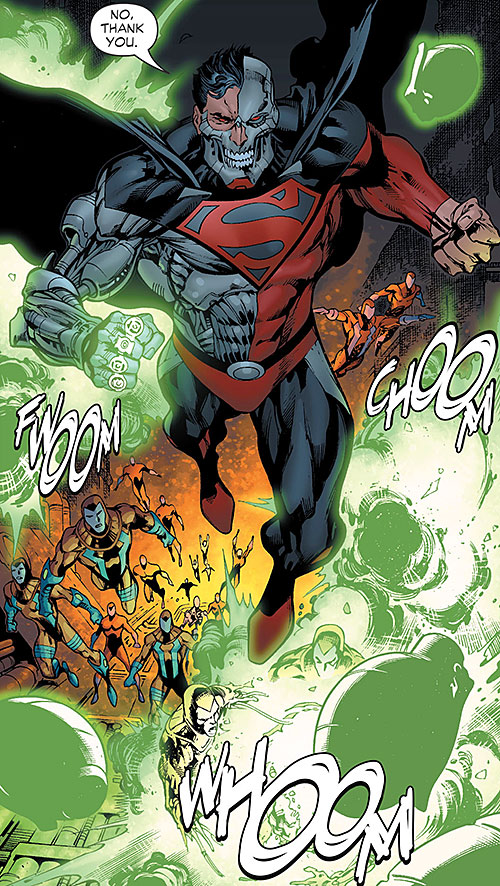 Cyborg Superman (DC Comics) and the Manhunters