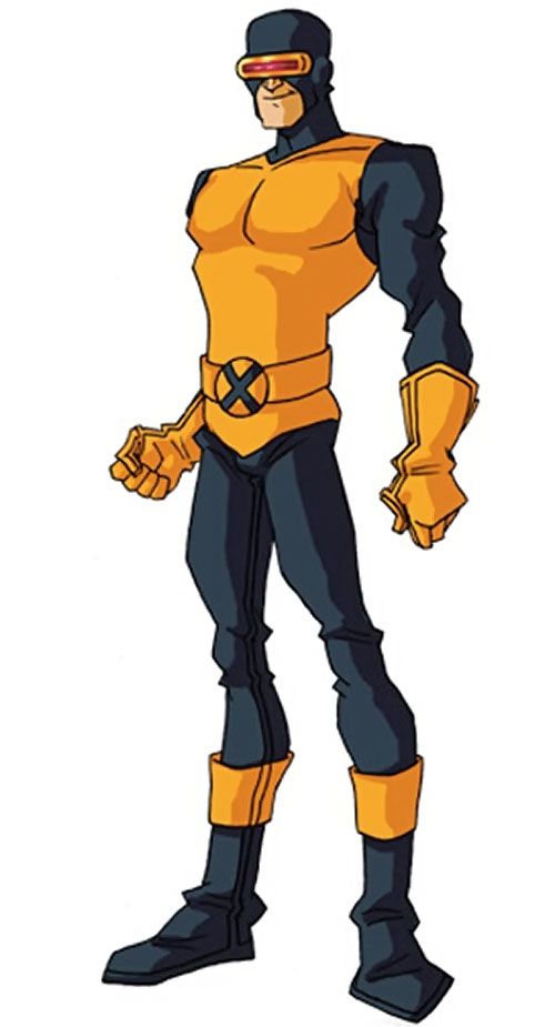 Early Cyclops of the X-Men by RonnieThunderbolts 1/2