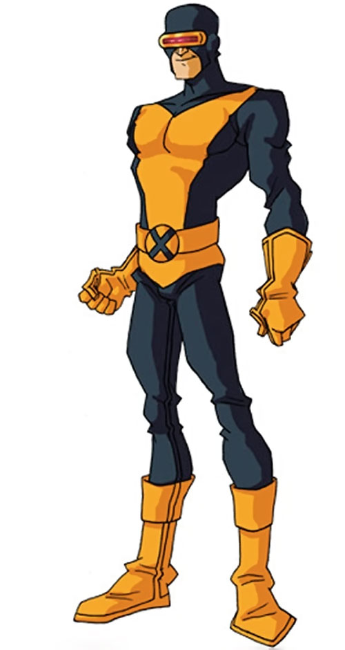 Early Cyclops of the X-Men by RonnieThunderbolts 2/2