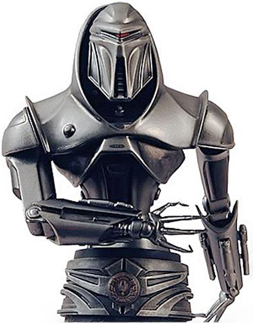 Cylon centurion in the rebooted Battlestar Galactica