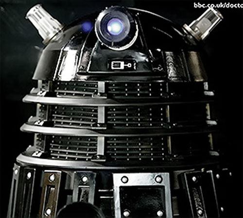 Black Dalek top end closeup