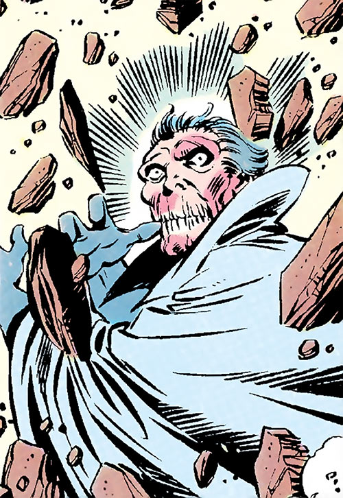 Indestructible Man (Damon Dran) (Marvel Comics) closeup