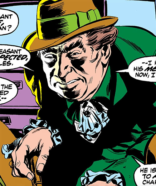 Indestructible Man (Damon Dran) (Marvel Comics) original appearance
