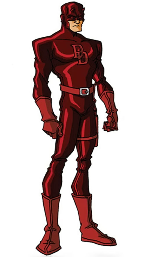 Daredevil (Marvel Comics) by RonnieThunderbolts