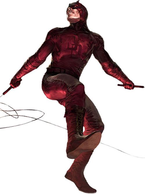 Daredevil (Marvel Comics) in a realistic style