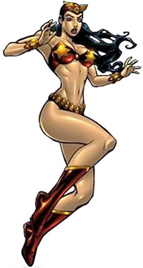 Darna hovering (Darna comics)