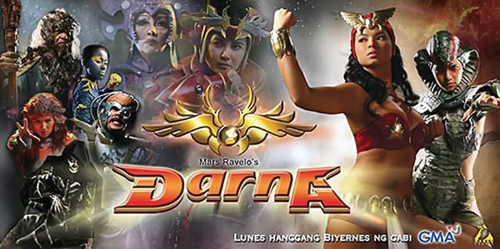 Promotional poster for a Darna TV series